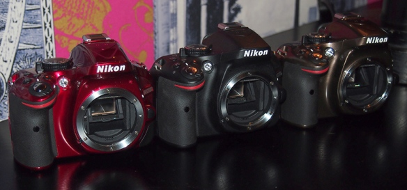 d3200 red