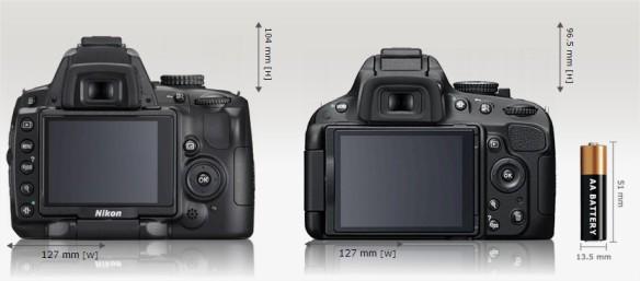 size of D5000 vs D5100 by tommyvotograph
