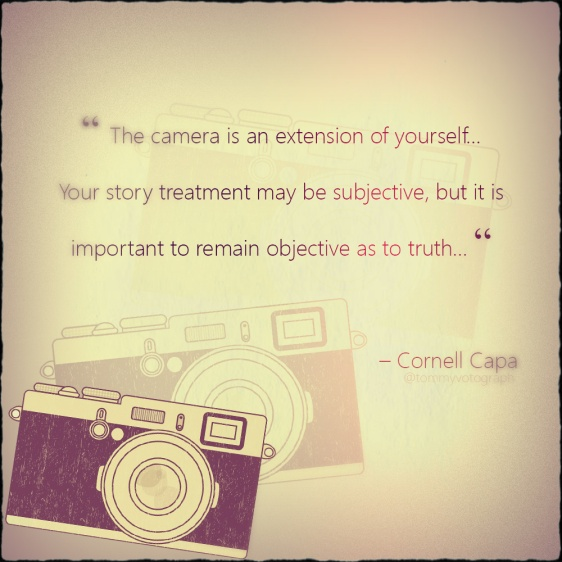 Cornell Capa Quotes by tommyvotograph