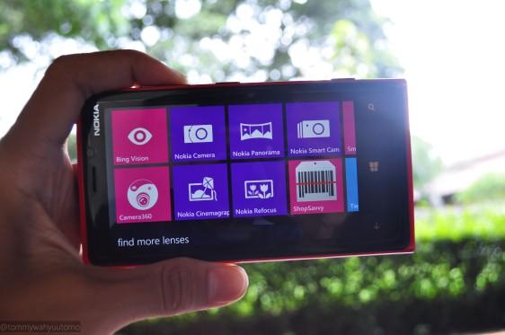 aplikasi fotografi bawaan Nokia yang tidak ada di ponsel WP8 dari vendor lainnya.